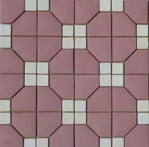 Unglazed Mosaic Matte Tile 03