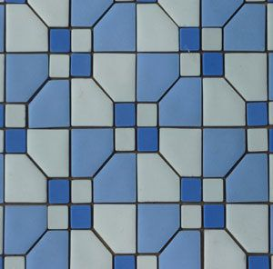 Unglazed Mosaic Matte Tile 08