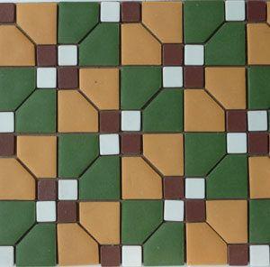 Unglazed Mosaic Matte Tile 09