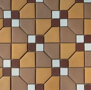 Unglazed Mosaic Matte Tile 10