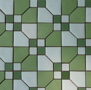 Unglazed Mosaic Matte Tile 11