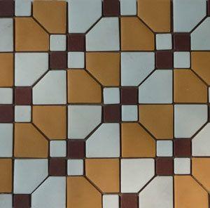 Unglazed Mosaic Matte Tile 12