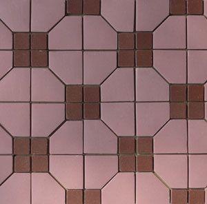 Unglazed Mosaic Matte Tile 13