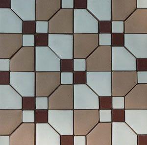 Unglazed Mosaic Matte Tile 14