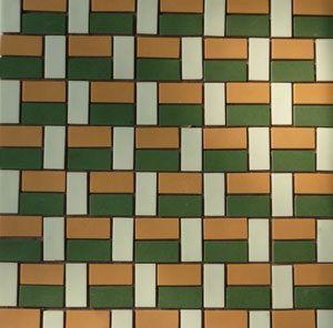 Unglazed Mosaic Matte Tile 15