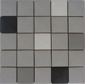 Unglazed Mosaic Matte Tiles