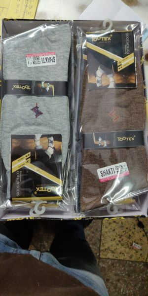 Mens Plain Socks 01