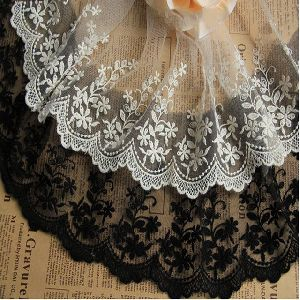 Embroidered Net Lace