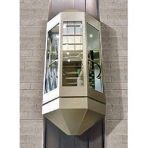 5 Glass Panel Capsule Elevator
