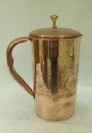 Copper Water Jug  01