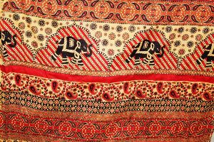 Vintage Ethnic Printed Fabric