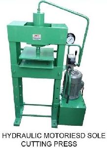 Hydrualic Slipper Making Machine