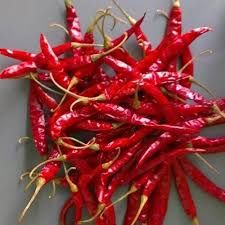 Stemmed Dry Red Chilli