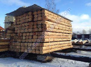 Square Wood Logs