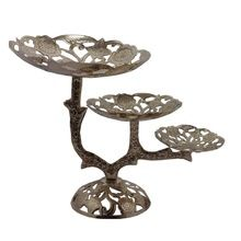 Metal decorative fruit stand