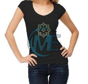Ladies Half Sleeves T-Shirt