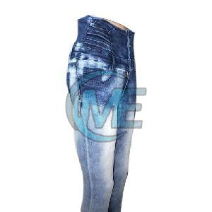 Ladies Over Dyed Jeans