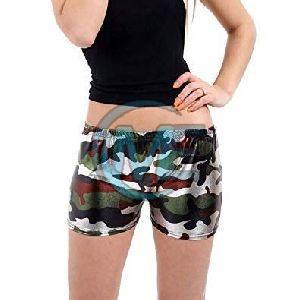 Ladies Printed Hot Pant