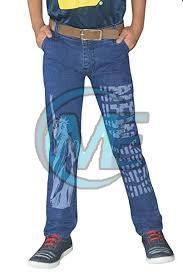 Mens Printed Jeans