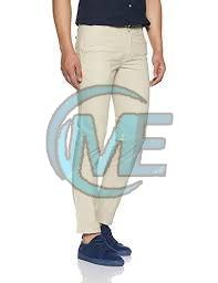Mens Straight Fit Cotton Trouser