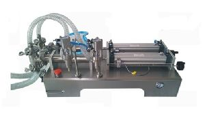 Pneumatic Double Head Liquid Filling Machine