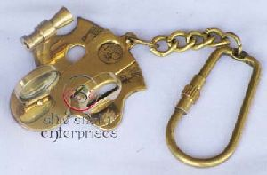 Sextant Key Chain