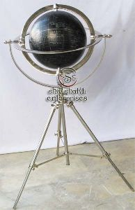 Vintage Globe with Stand