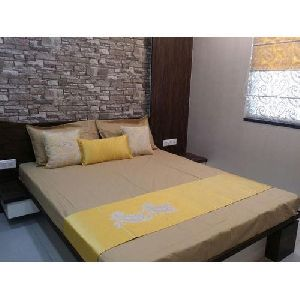 Cotton Designer Bed Cover