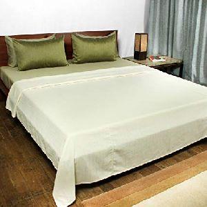 Cotton Plain Bed Cover