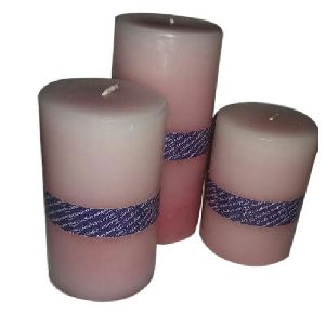 Scented Wax Pillar Candle