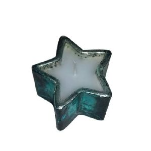 Star Shaped Votive Candle