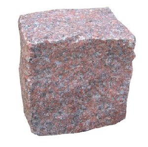 Magadi Red Granite Cobblestone