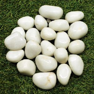 White Marble Pebbles