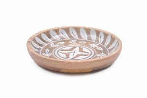 Decorative Mango Wood Bowl