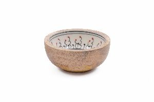 Handcrafted Medium Wooden Bowl