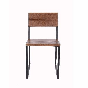 Iron Square Chair