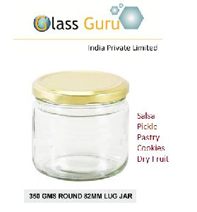 350ml Lug Glass Jar