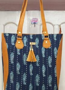 Printed Fabric Ladies Bags
