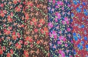 Printed Raschel Fabric