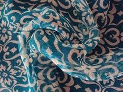 Printed Silk Georgette Fabric
