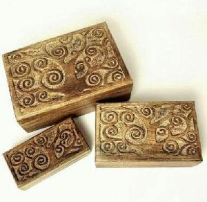 Decorative Wooden Jewelry Box