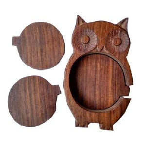 Wooden Designer Coaster