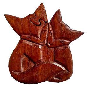 Wooden Designer Puzzle Box