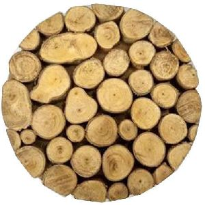 Wooden Wood Logs Trivet