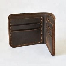 Annu Exports mens leather wallet folded card holder