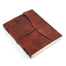 Handmade Diary leather-Organizer diary journal Guestbook-