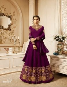 WEDDING anarkali gown DRESS