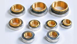 Brass CPVC Female Insert With Steel Cap
