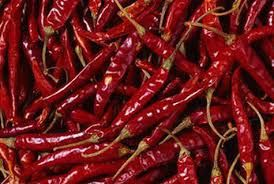 Dried Dark Red Chilli