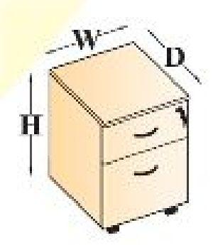 MOBILE PEDESTAL (1D/1F)